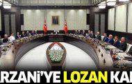 Barzani'ye Lozan kartı