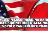 Cumhurbaşkanı Yardımcısı Oktay: ABD'nin saldırılarına karşı bazı ürünlerin ithalatında vergi oranları artırıldı