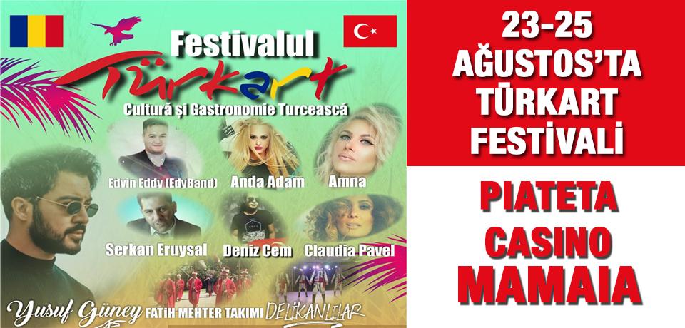 23-25 Ağustos'ta Mamaia'da TÜRKART Festivali