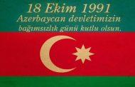 Azerbaycan'ın Bağımsızlık Günü-18 Ekim 1991
