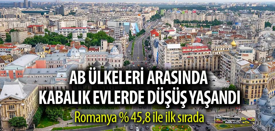 Rumenlerin neredeyse yarısı aşırı kalabalık hanelerde yaşıyor